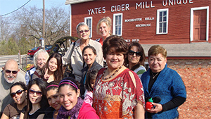 The OLC Gang Visits Yates Cider Mill