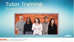 tutortraining